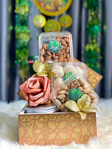 Salam Raya Gift Box With Rose Money (Hari Raya 2021)