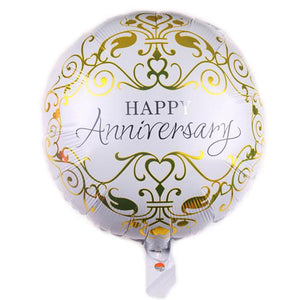 "18"" HAPPY ANNIVERSARY FOIL BALLOON - Carnations Florist Malaysia"