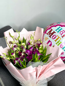 Mother's Orchid Lover Flower Bouquet (Mother's Day 2021)