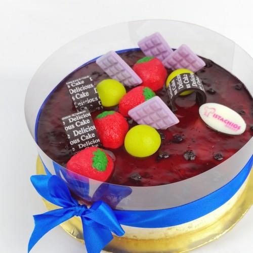 Blueberry Cake - Carnations Florist Malaysia