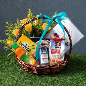 Blissful Food Basket - Carnations Florist Malaysia