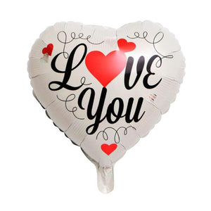 "18"" I LOVE YOU FOIL BALLOON - Carnations Florist Malaysia"