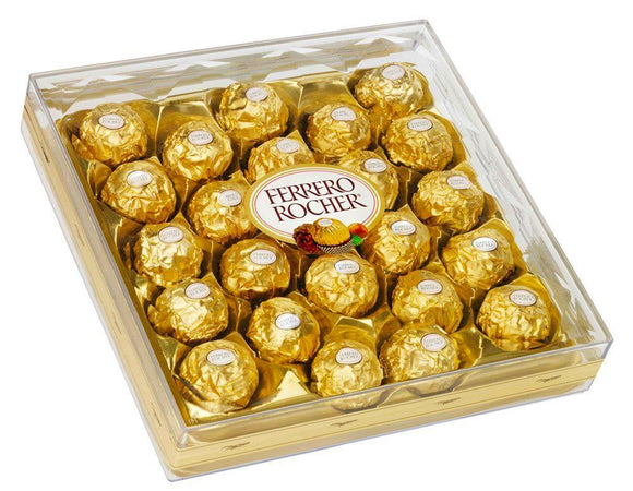 Ferrero Chocolate Box of 24pcs - Carnations Florist Malaysia