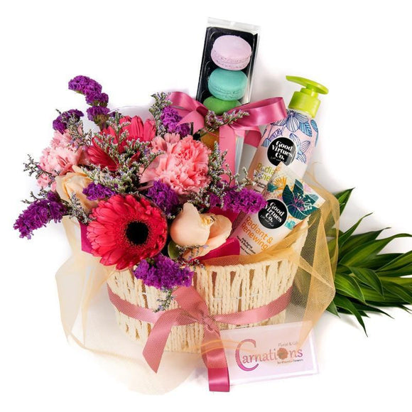 Flowers & Gift Basket - Carnations Florist Malaysia