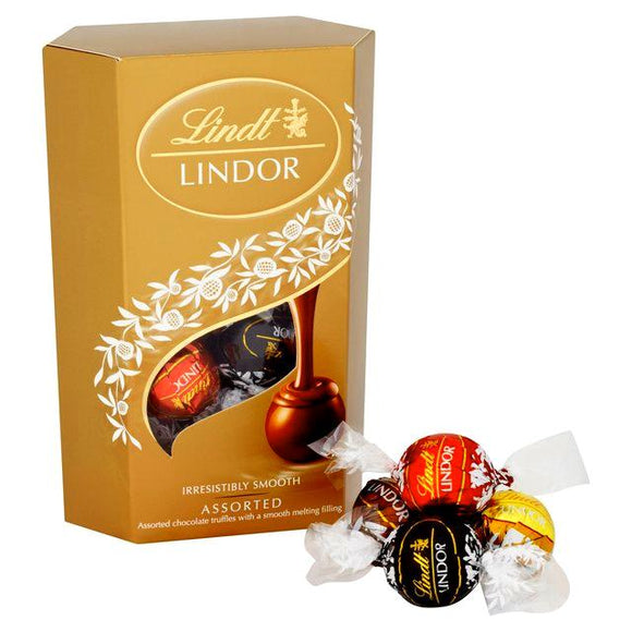 Lindt Lindor Assorted Chocolate Truffles 200G - Carnations Florist Malaysia