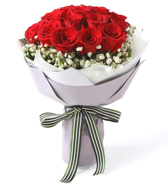 Falling in Love Bouquet - Carnations Florist Malaysia