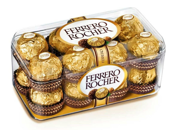 Ferrero Chocolate Box of 16pcs - Carnations Florist Malaysia