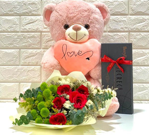 Forever Love - Carnations Florist Malaysia