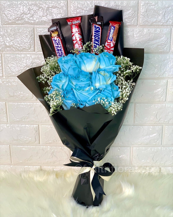 Handsome Candy Love - Carnations Florist Malaysia