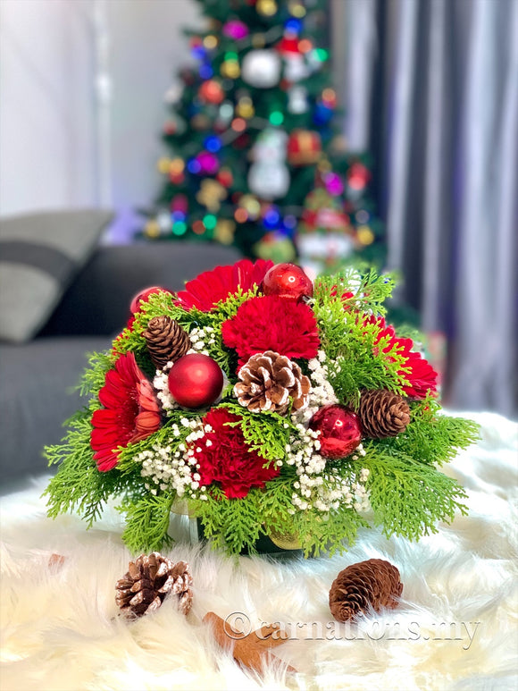 Christmas to Remember Set 1 - Carnations Florist Malaysia
