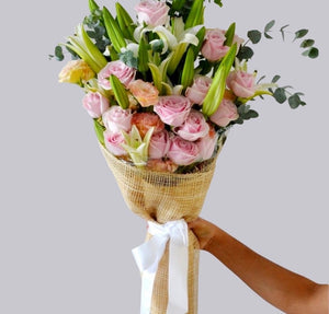 Timeless Bouquet - Carnations Florist Malaysia