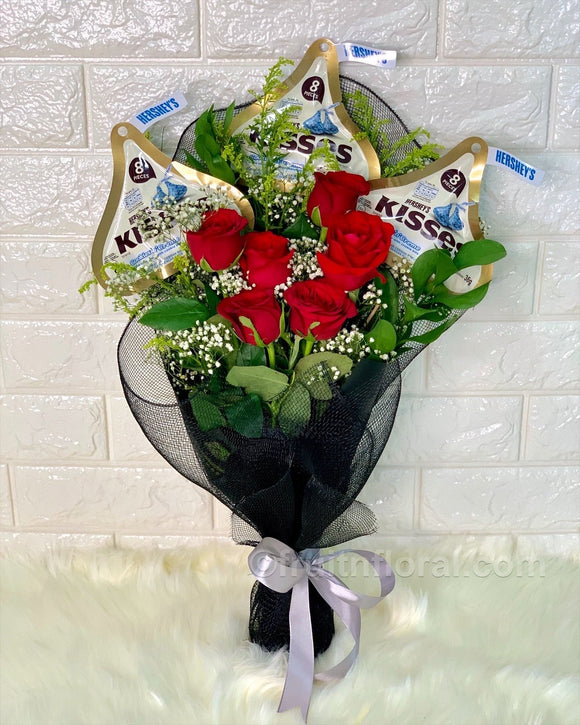 Love Bites Bouquet - Carnations Florist Malaysia
