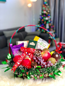 Merry Fruity Basket - Carnations Florist Malaysia