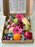 Fruit Lover Box with Bird's Nest - Carnations Florist Malaysia