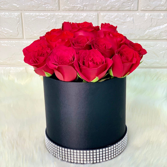 Luxe Red Roses - Carnations Florist Malaysia