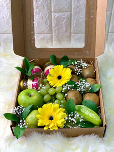 Greeny Box with Bird's Nest - Carnations Florist Malaysia