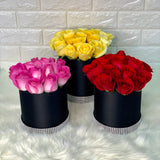 Luxe Pink Roses - Carnations Florist Malaysia