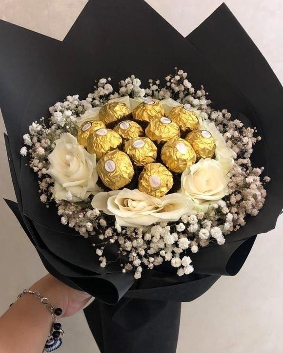 Choco Bouquet - Carnations Florist Malaysia