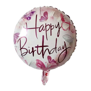 "18"" HAPPY BIRTHDAY FOIL BALLOON - Carnations Florist Malaysia"