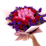 30 Roses Bouquet - Carnations Florist Malaysia
