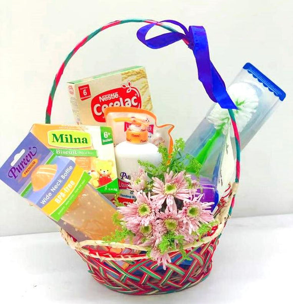 New Born Baby Gift Set C - Carnations Florist Malaysia