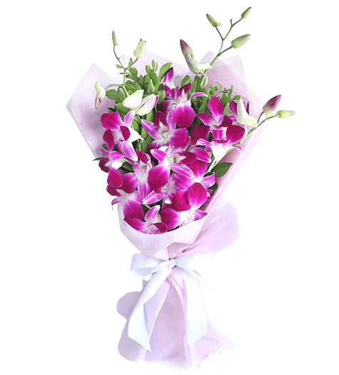 Orchid Bouquet - Carnations Florist Malaysia