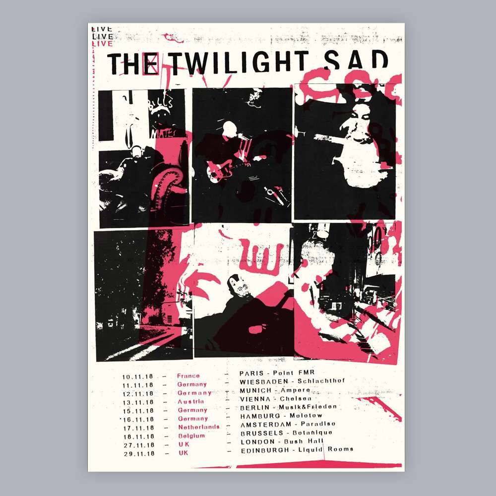 European Tour 2018 | Limited Edition Screen Print