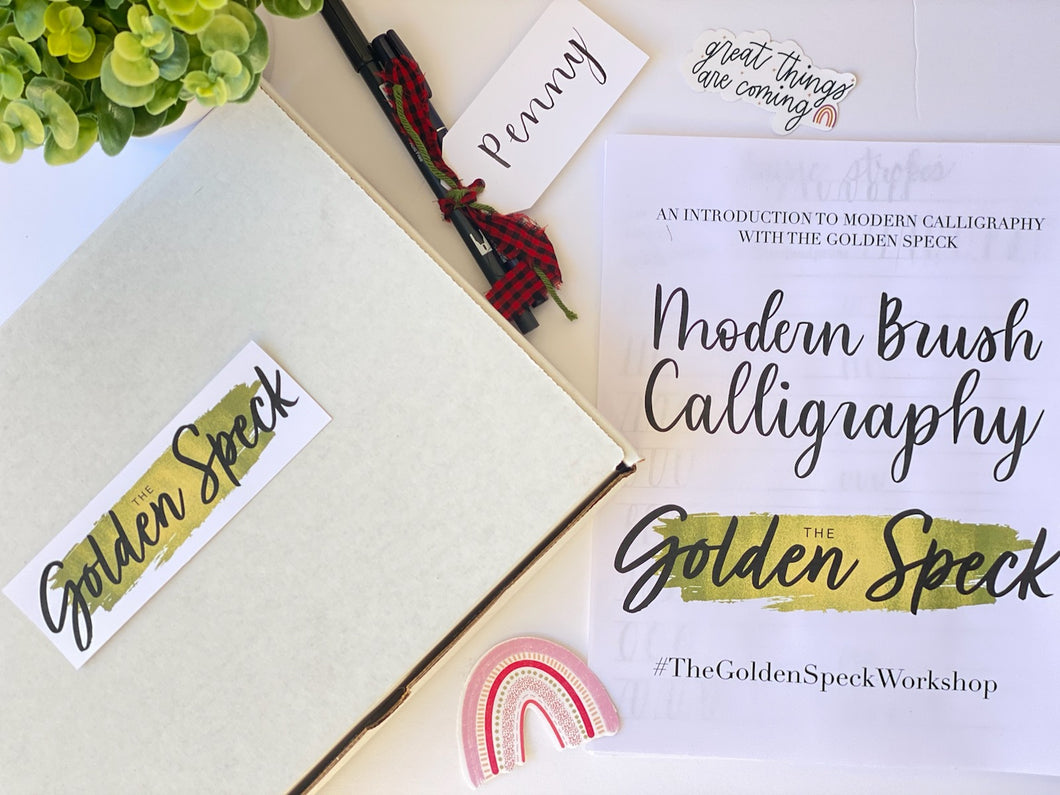 *PRE-ORDER* Calligraphy Workshop - In A Box
