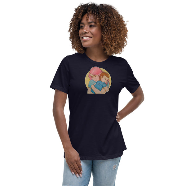 HUGS ARE RECYCLABLE Women/'s Relaxed T-Shirt