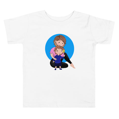 Mom and Babe Toddler Short Sleeve Tee