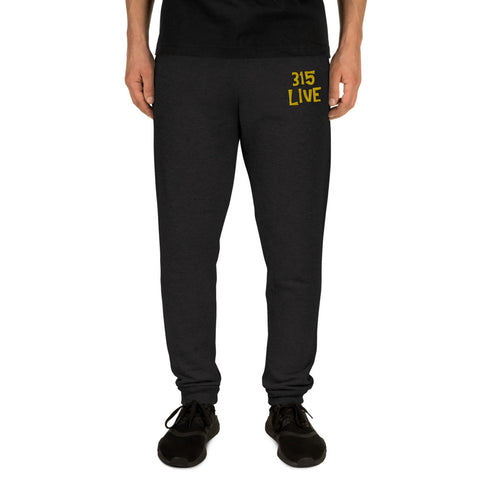 315Live Embroidered Joggers