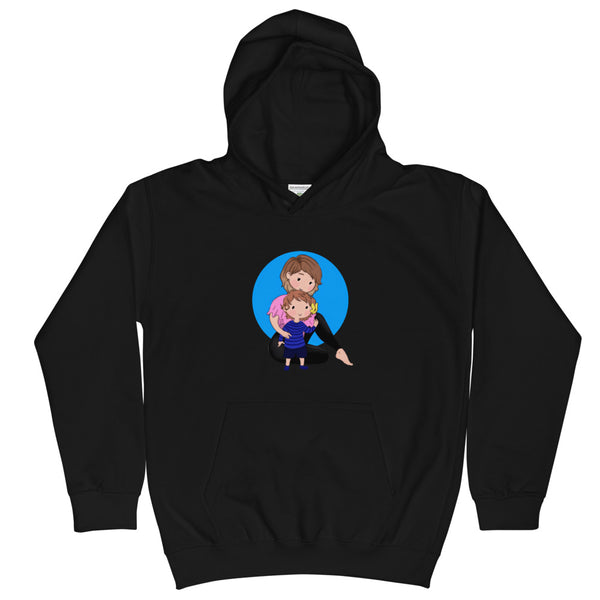 Mom and Babe Kids Hoodie