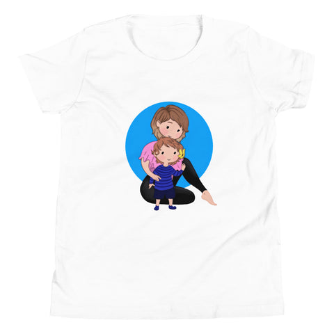 Mom and Babe Youth Short Sleeve T-Shirt