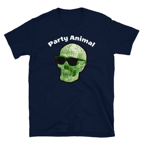 Party Animal Skull - Short-Sleeve Unisex T-Shirt