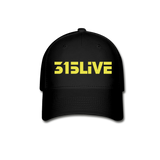 315Live Fitted Hat - black