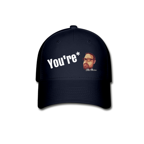 Matt Masur You're* - Baseball Cap Fitted Hat - navy