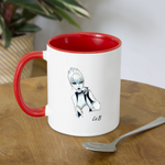 Ice Queen by Liz B - Coffee Mug - white/red