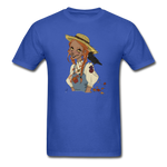 Scarecrow Girl by Liz B - Unisex Classic T-Shirt - royal blue