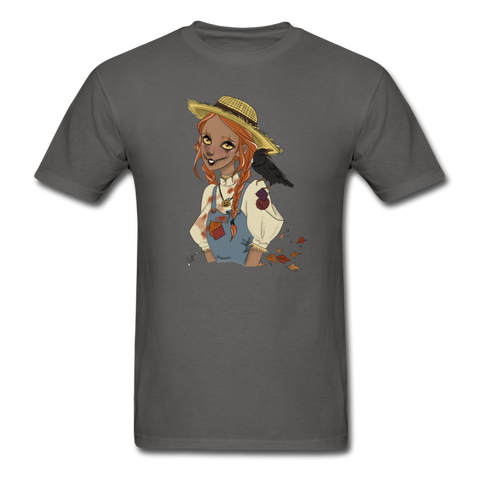 Scarecrow Girl by Liz B - Unisex Classic T-Shirt - charcoal