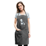 Ice Queen by Liz B - Adjustable Apron - charcoal