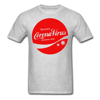 Corona Virus Coca-Cola Parody Unisex T-Shirt - heather gray