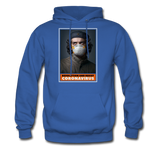 Revolution and Resist Coronavirus Che Hoodie - royal blue