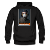 Revolution and Resist Coronavirus Che Hoodie - black
