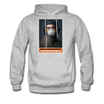 Revolution and Resist Coronavirus Che Hoodie - heather gray