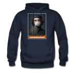 Revolution and Resist Coronavirus Che Hoodie - navy
