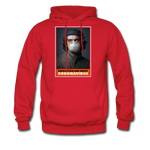 Revolution and Resist Coronavirus Che Hoodie - red