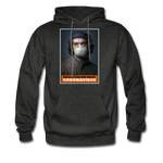 Revolution and Resist Coronavirus Che Hoodie - charcoal gray