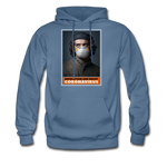 Revolution and Resist Coronavirus Che Hoodie - denim blue