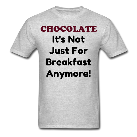 Married with Children Inspired Chocolate Unisex T-Shirt - heather gray