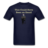 Bernie Mittens This Could Have Been an Email T-Shirt - navy